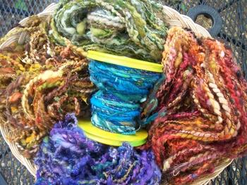 Feast Art Yarns | Spinning