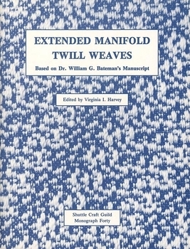 Extended Manifold Twill Weaves | Weaving Books