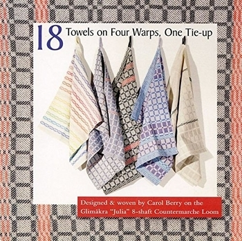 18 Towels On Four Warps, One Tie-up | Weaving Books