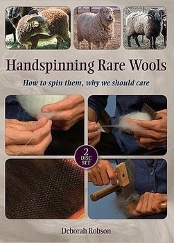 Handspinning Rare Wools | Spinning DVDs