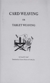 Card Weaving or Tablet Weaving | Band & Card Weaving Books