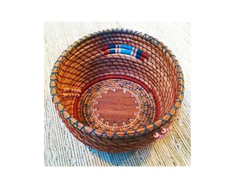 Pine Needle Basket 2-Day Workshop   Weaving