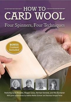 How to Card Wool | Spinning DVDs