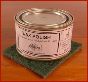 Tin Of Wax (For Finishing wheels) | Spinning Wheels and Accessories