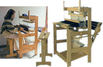 Louet David III Floor Loom | Jack Floor Looms