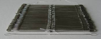 Harrisville Large Eye Wire Heddles (200/package)   Heddles