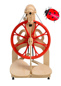 Ladybug Spinning Wheel | Schacht Spindle Company, Inc.