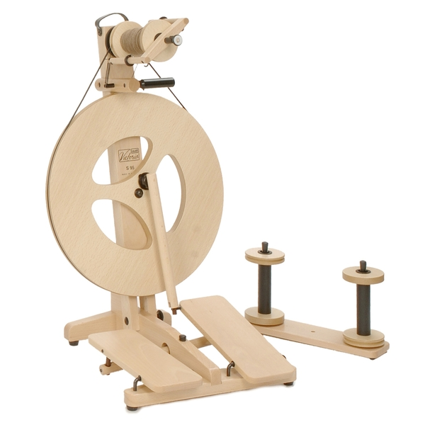 Louet Victoria S95 & S96 | Portable Travelling Spinning Wheels