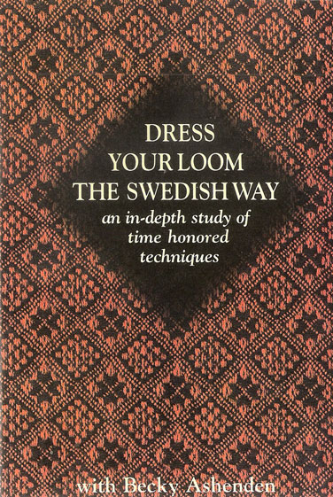 Dress Your Loom the Swedish Way | Weaving DVDs