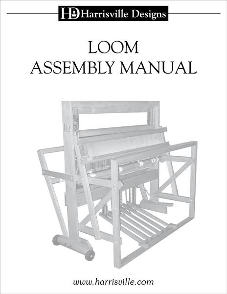 Harrisville Designs Loom Assembly Manual | Harrisville Designs Loom Parts