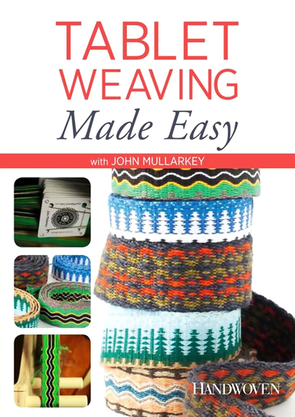 Tablet Weaving Made Easy | Weaving DVDs