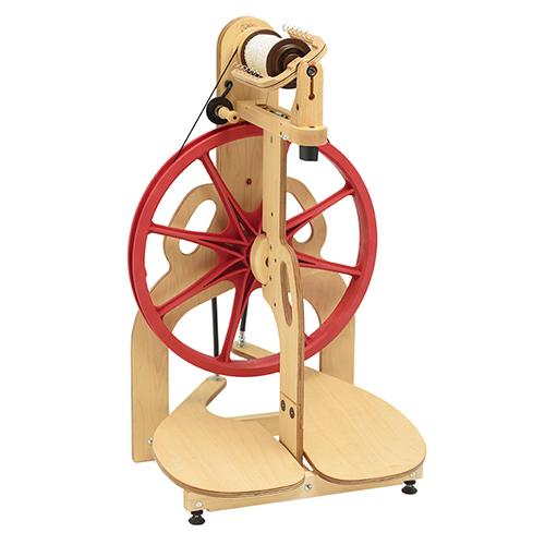 Ladybug Spinning Wheel   Portable Travelling Spinning Wheels