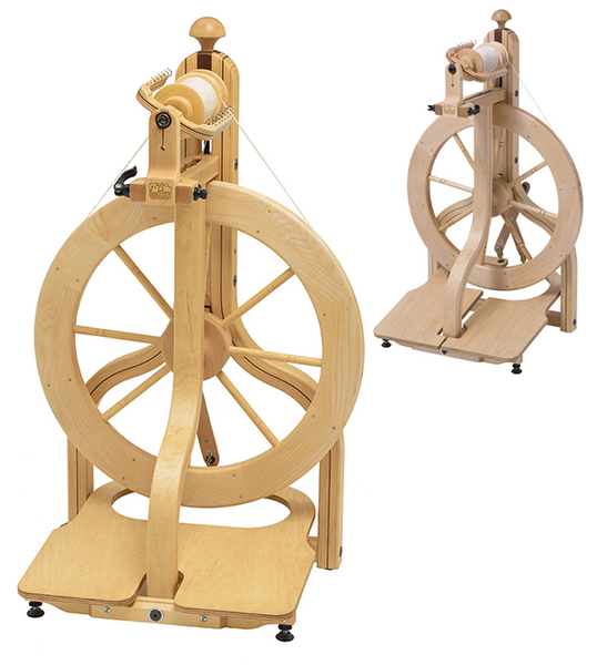 Schacht Matchless Spinning Wheel | Upright Castle Spinning Wheels