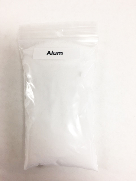 Alum (hydrated potassium aluminium sulfate)- 4oz. pkg | Natural Dyestuffs & Mordants