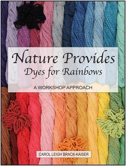 Nature Provides Dyes For Rainbows   Dyeing Books