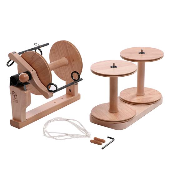 Kiwi Super Flyer kit (w/ 3 bobbins) | Ashford Kiwi 2 Spinning Wheel
