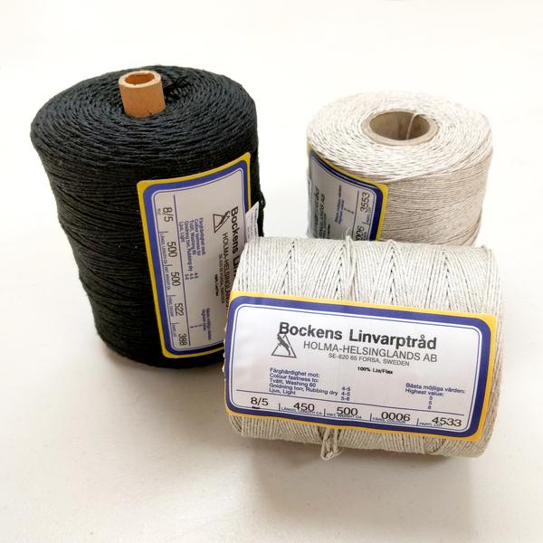 Bockens Linen Rug Warp | Warp Linen