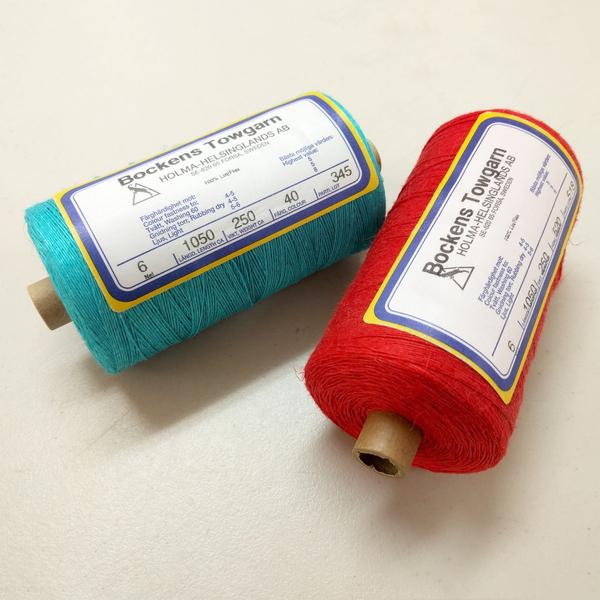 Bockens Tow Linen 6/1 | Swedish Yarns