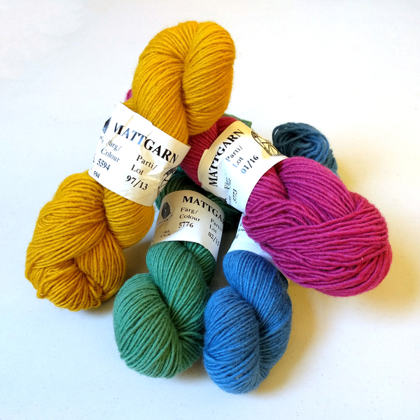 Mattgarn 1.25/1 | Swedish Yarns