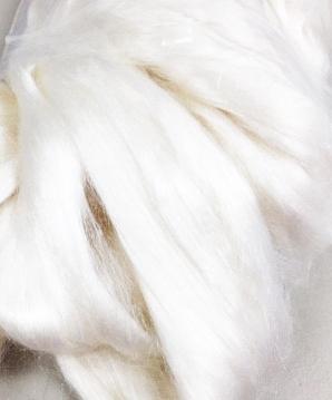 Bleached Tussah Silk Top - 2oz. pkg | Silk