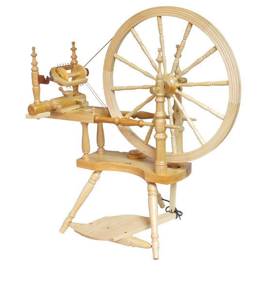 Kromski Polonaise Spinning Wheel | Saxony Spinning Wheels