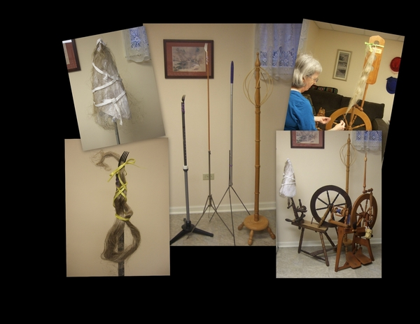 Flax, A Very Old Spinning Challenge With Patsy Zawistoski   Spinning