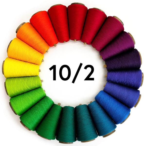 10/2 Tubular Spectrum 8oz Mercerized Cotton | Cotton Yarns, Mercerized