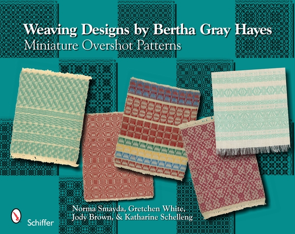 Weaving Designs by Bertha Gray Hayes | Weaving Books