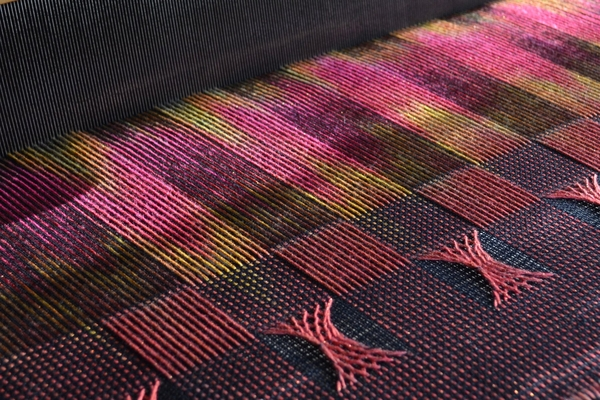The Unwoven Warp: Layering Sprang on Woven Cloth with Deanna Deeds | Weaving