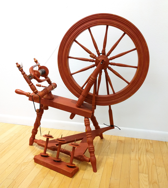 Used Canadian Saxony Flax Wheel | Used Spinning Wheels