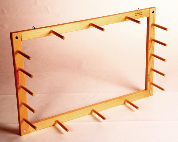 Glimakra Sofia Wall Mount Warping Frame (9 yards) | Warping Boards, Pegs, Frames, Etc