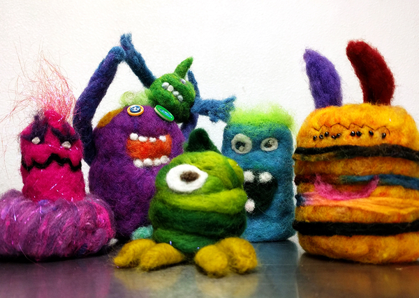 Needle Felting Monsters! | March 2020