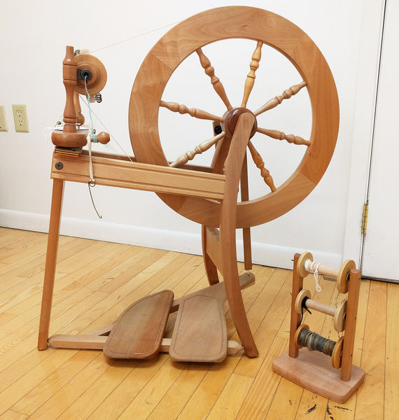 Used Ashford Traditional with Double Treadle | Used Spinning Wheels