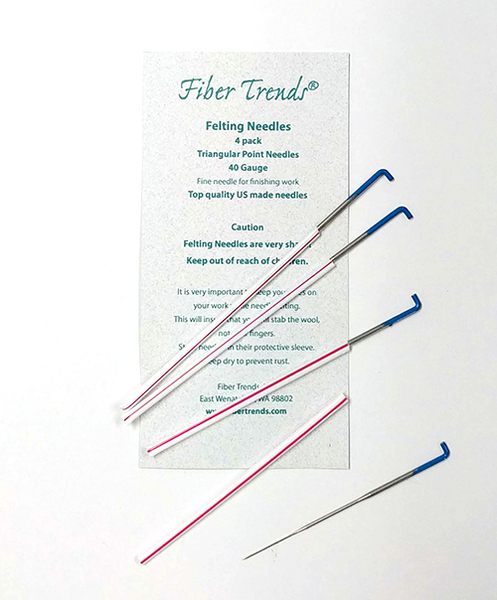 Fiber Trends Felting Needles, extra fine (42 gauge) | Felting Needles