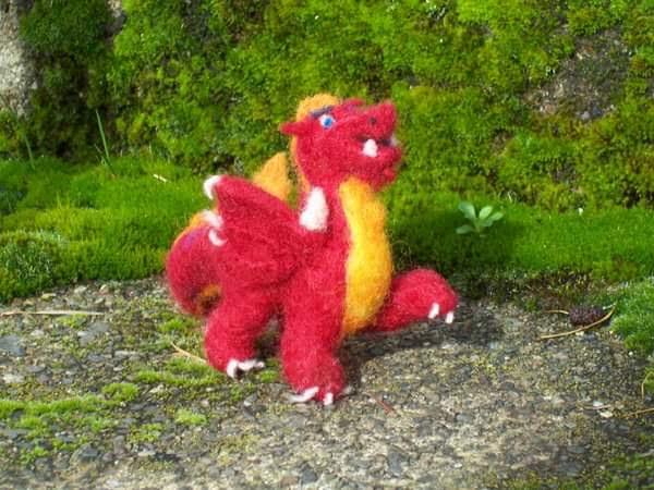 Needle Felting Dragons | Feltmaking