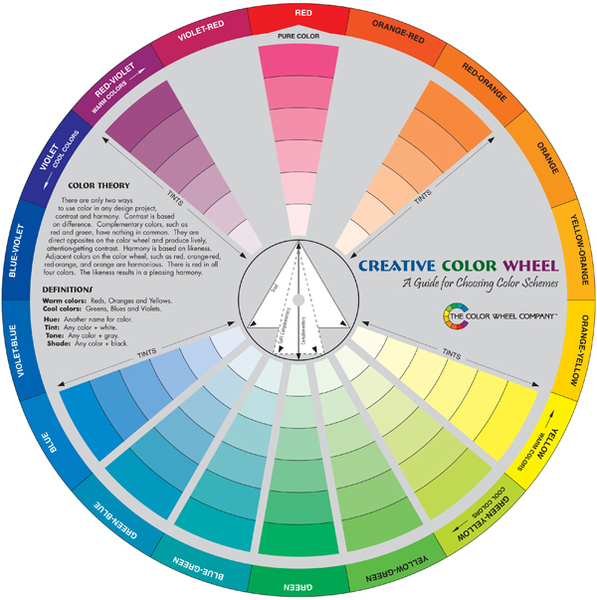 Creative Color Wheel | Color Theory Books