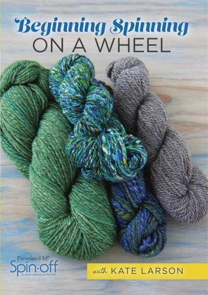 Beginning Spinning on a Wheel | Spinning DVDs