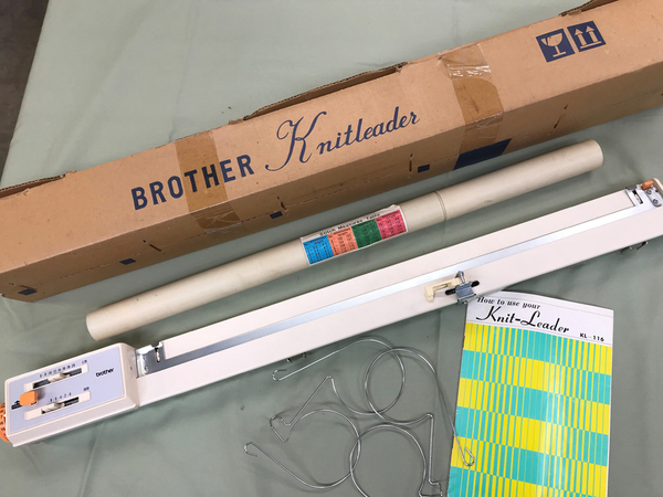 Brother Knit Leader KL-116 | Used Knitting Machines
