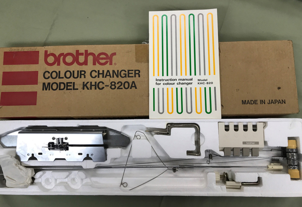 Brother KHC-820A Color Changer | Used Knitting Machines