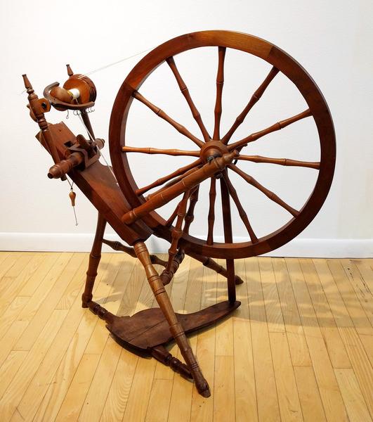 Used John White Saxony Spinning Wheel | Used Spinning Wheels
