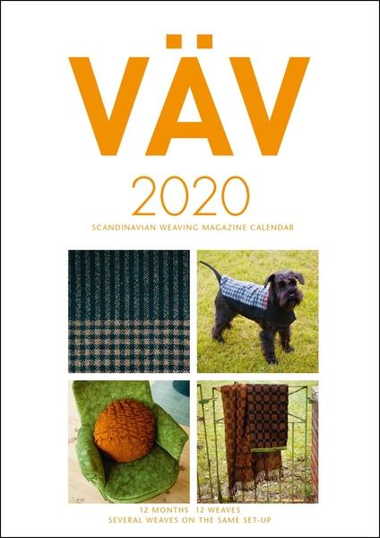 VAV Magazine Calendar, 2020 | Weaving Books