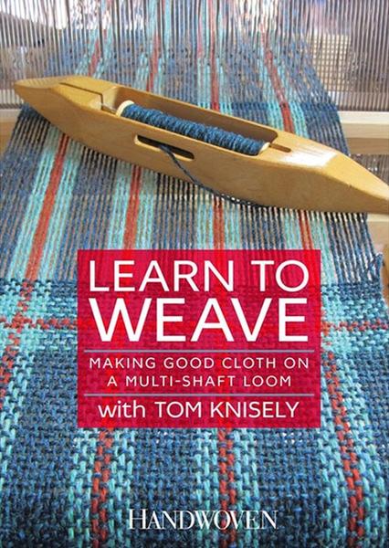 DVD: Learn to Weave   Weaving DVDs