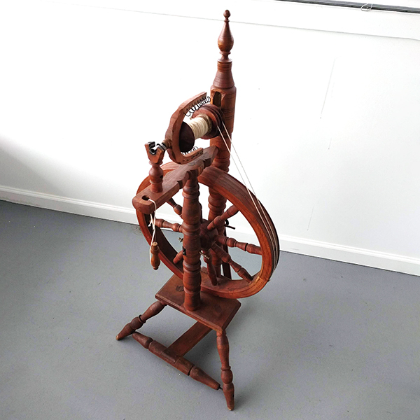 Parlor-Style Castle Wheel | Used Spinning Wheels
