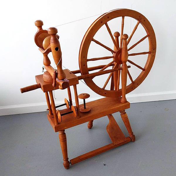 Norwegian Style Spinning Wheel | Used Spinning Wheels