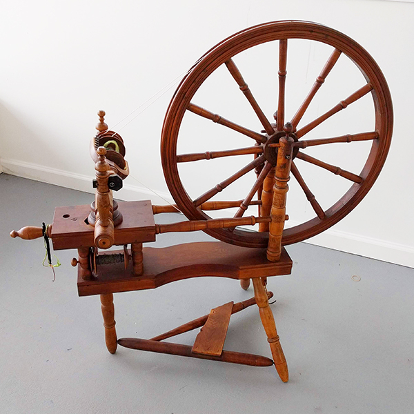 Norwegian Double Table Spinning Wheel   Used Spinning Wheels