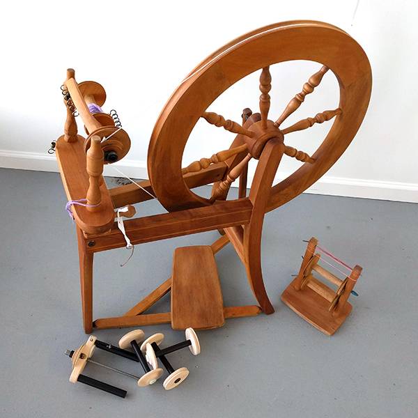 Used Ashford Traditional with Woolee Winder   Used Spinning Wheels