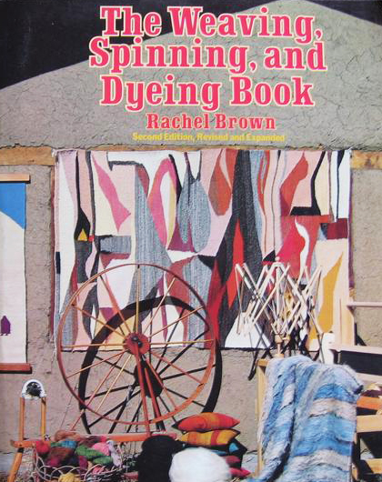 Weaving, Spinning, and Dyeing Book (used) | Used Books