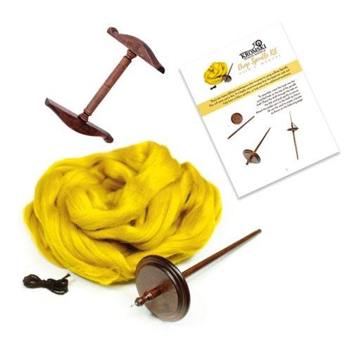 Kromski Drop Spindle Kit deLuxe | Kromski Hand Spindles