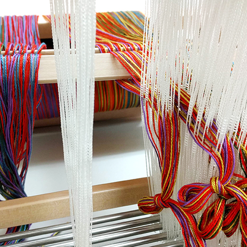 ONLINE: Dressing the Loom - Back to Front | Weaving