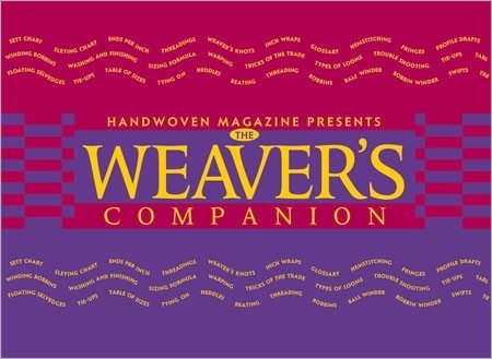The Weaver's Companion | Weaving Books